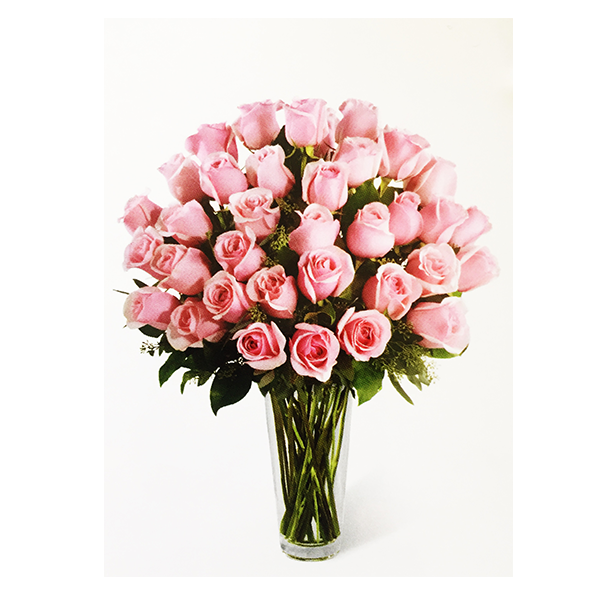 Pink Rose Bouquet - Flower Festival Las Vegas Delivery
